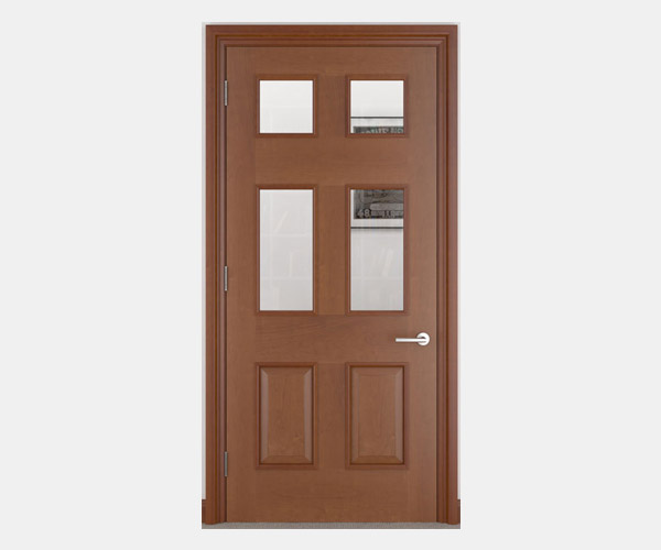 Shadbolt_Atkinson_veneered_panelled_doors_with_glazing_CC_American_Cherry