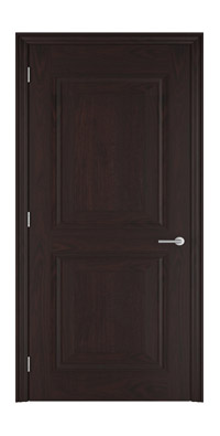 Shadbolt_Brighstone_veneered_panelled_door_crown_cut_American_black_walnut_stained