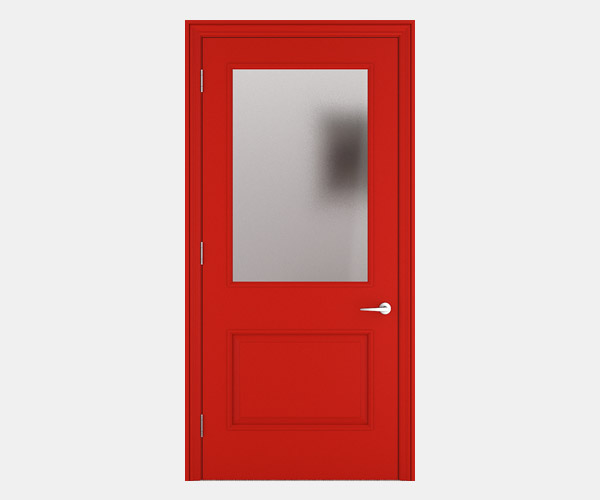 Shadbolt_Carisbrooke_lacquered_panelled_doors_Traffic_Red_RAL_3020