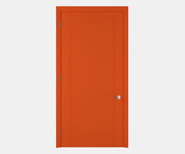 Shadbolt_Hatfield_lacquered_panelled_doors_Orange_RAL_2005