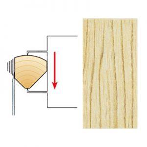 Quarter cut/Straight grain