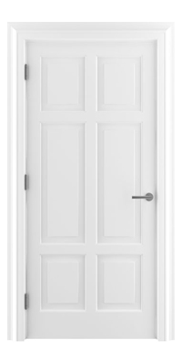 Shadbolt_Type10_Timeless_Hardwood_Door_in_RAL9010_paint_finish
