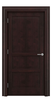 Shadbolt Type11 Timeless Hardwood Door in American black walnut veneer with dark stain finish