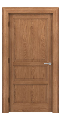 Shadbolt Type11 Timeless Hardwood Door in European Oak veneer