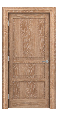 Shadbolt Type11 Timeless Hardwood Door in European Oak veneer with lime finish