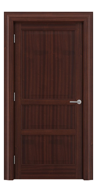 Shadbolt Type11 Timeless Hardwood Door in Sapele Mahogany veneer