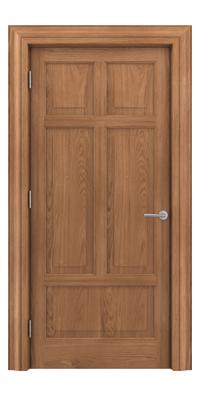Shadbolt Timeless Type13 hardwood panelled door in European Oak veneer