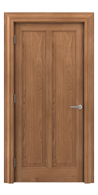 Shadbolt Timeless Type18 hardwood panelled door with European Oak veneer