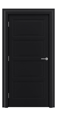 Shadbolt_Type6_Timeless_Hardwood_Door_in_RAL9005_paint_finish