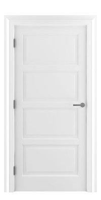 Shadbolt_Type6_Timeless_Hardwood_Door_in_RAL9010_paint_finish