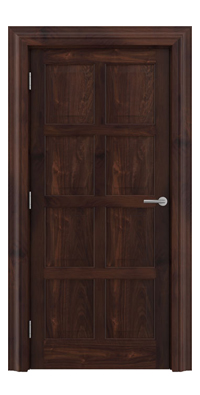 Shadbolt_Type8_Timeless_Hardwood_Door_with_American_Black_Walnut_veneer