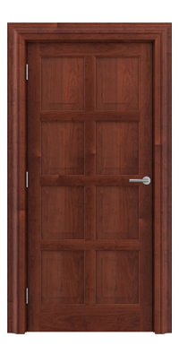 Shadbolt_Type8_Timeless_Hardwood_Door_with_American_Cherry_veneer