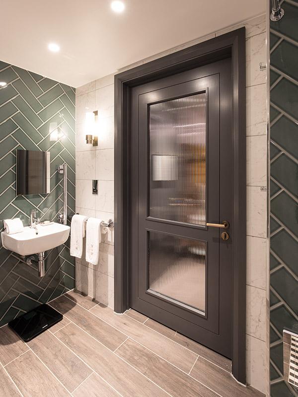 Shadbolt supplied primed hotel room doors to Vintry & Mercer in London.