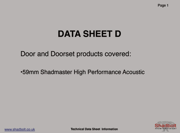 Doorset-Datasheet-D